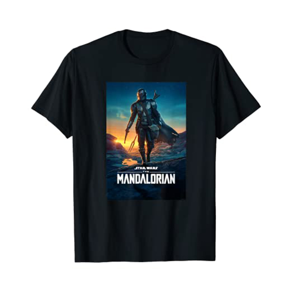 Camiseta The Mandalorian Poster Season 2