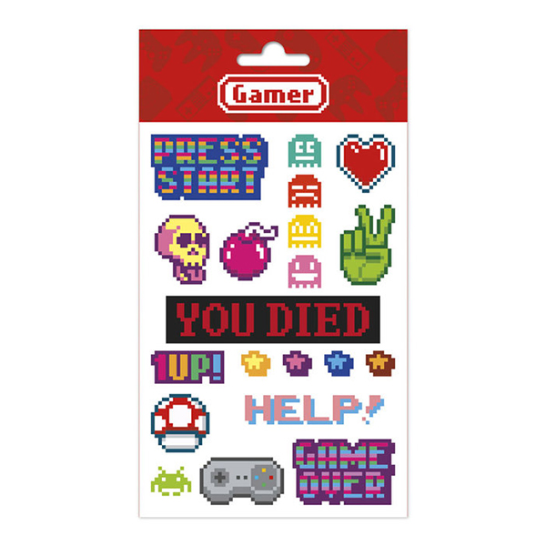 Stickers Gamer