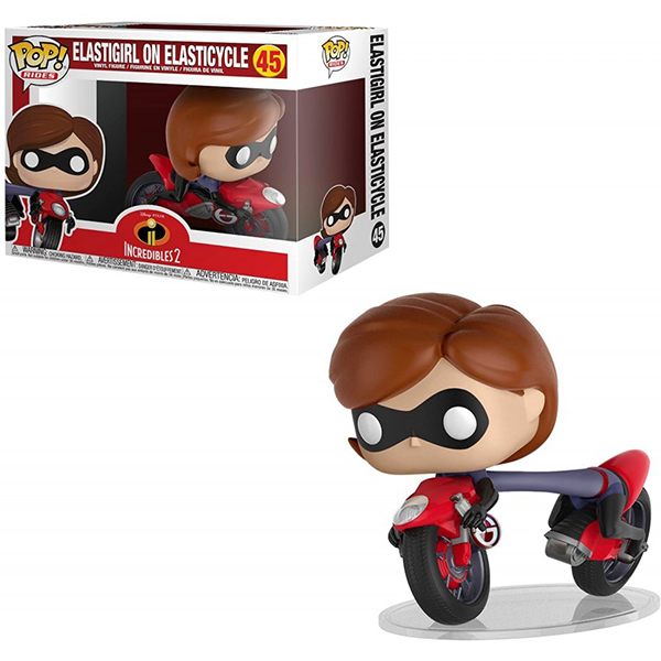 Pop Elastigirl on Elasticycle 45