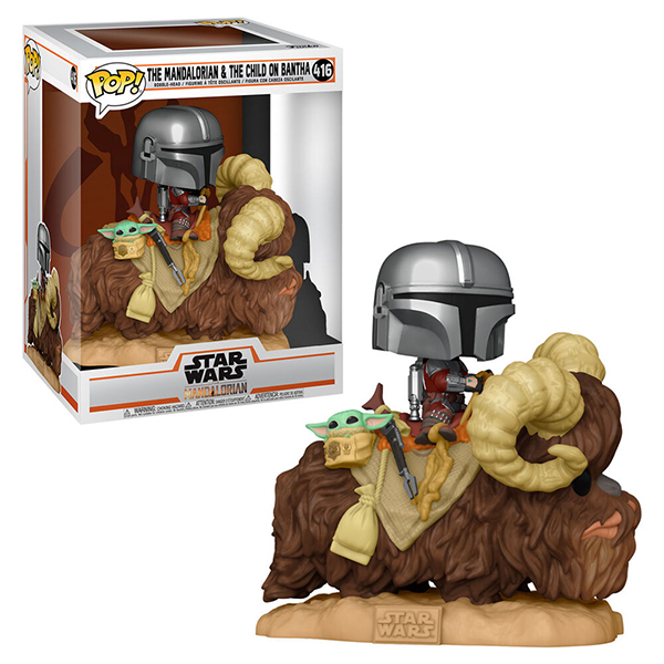 Pop The Mandalorian & The Child on Bantha 416
