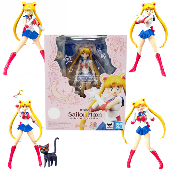 Figura Figuarts Sailor Moon Animation Color Edition 14cm