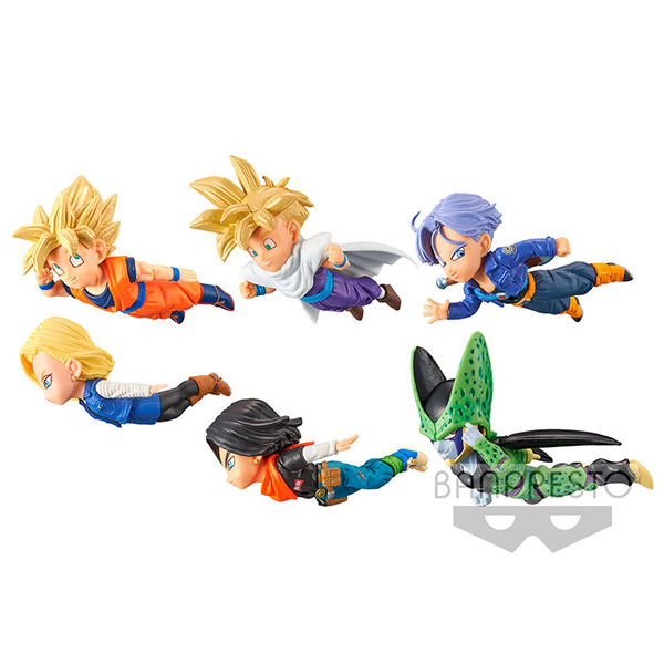 Figuras Dragon Ball Z The Historical Characters Vol.2 (7cm)