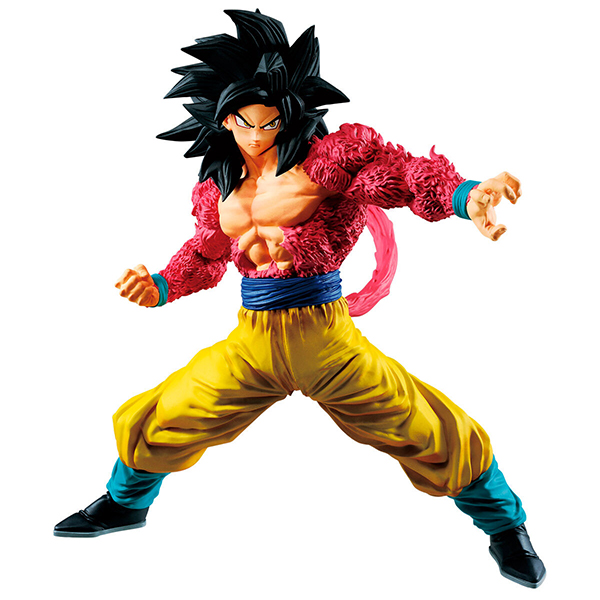 Figura Full Scratch Goku Super Saiyan 4 18cm